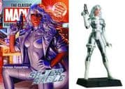 Classic Marvel Figurine Collection #142 Silver Sable Eaglemoss Publications