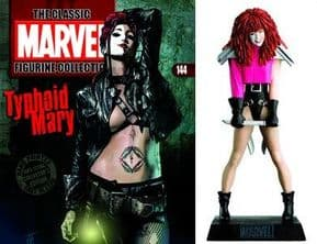 Classic Marvel Figurine Collection #144 Typhoid Mary Eaglemoss Publications