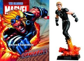 Classic Marvel Figurine Collection #149 Cannonball Eaglemoss Publications