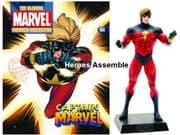 Classic Marvel Figurine Collection #164 Classic Captain Marvel Eaglemoss Publications