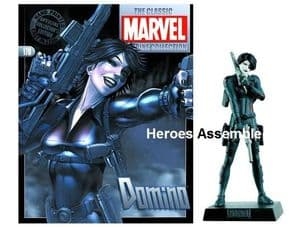Classic Marvel Figurine Collection #178 Domino from Eaglemoss Publications