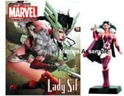 Classic Marvel Figurine Collection #179 Lady Sif Eaglemoss Publications