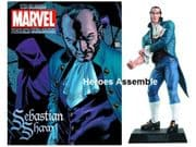 Classic Marvel Figurine Collection #181 Sebastian Shaw Eaglemoss Publications