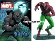 Classic Marvel Figurine Collection #188 Werewolf By Night Eaglemoss Publications