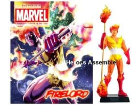Classic Marvel Figurine Collection #196 Firelord Eaglemoss Publications