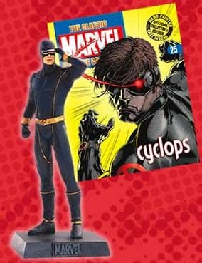 Classic Marvel Figurine Collection #025 Cyclops Eaglemoss Publications
