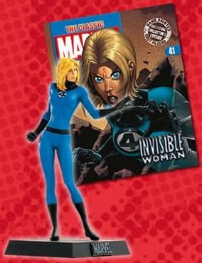 Classic Marvel Figurine Collection #041 Invisible Woman Eaglemoss Publications