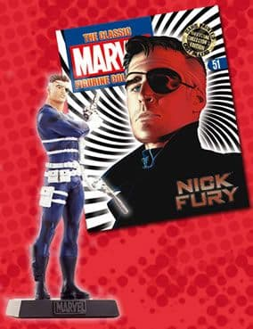 Classic Marvel Figurine Collection #051 Nick Fury Eaglemoss Publications