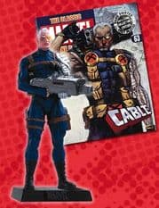 Classic Marvel Figurine Collection #063 Cable Eaglemoss Publications