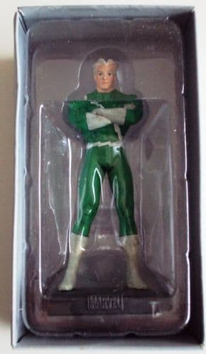 Classic Marvel Figurine Collection #071 Quicksilver Green Variant Eaglemoss Publications