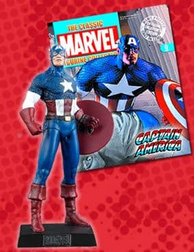 Classic Marvel Figurine Collection #009 Captain America Eaglemoss Publications