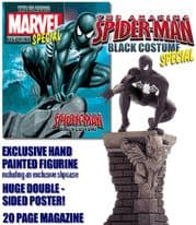 Classic Marvel Figurine Collection Black Spider-man Roof-Top Special Eaglemoss Publications