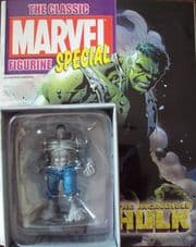 Classic Marvel Figurine Collection Incredible Hulk Grey Variant Special Eaglemoss Publications