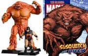 Classic Marvel Figurine Collection Sasquatch & Puck Special Alpha Flight Eaglemoss Publications