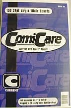 Comic Boards x100 - Comicare Current Modern Age Backing Backer Board