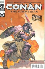 Conan The Cimmerian #0 (2008) Dark Horse comic book