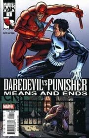 Daredevil Vs. Punisher Comics