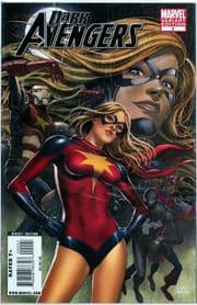 Dark Avengers #2 Mike Choi Ms. Marvel Retail Incentive Variant Ms. Captain Marvel comic book