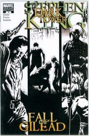 Dark Tower: The Fall Of Gilead #4 Isanove Retail Sketch Variant 1:75 Stephen King Marvel comic book
