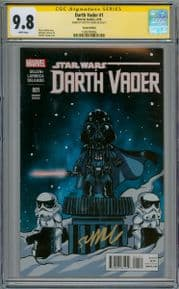 Darth Vader #1 Baby Variant CGC 9.8 Signature Series Signed Skottie Young Star Wars Marvel comic