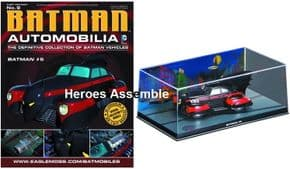 DC Batman Automobilia Collection #09 Batman #5 Batmobile Eaglemoss