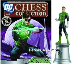 DC Chess Figurine Collection #35 Green Lantern White Bishop Justice League Eaglemoss