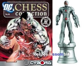 DC Chess Figurine Collection #58 Cyborg Justice League Eaglemoss