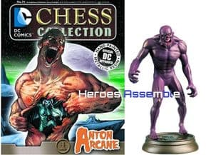 DC Chess Figurine Collection #74 Anton Arcane Forever Evil Eaglemoss