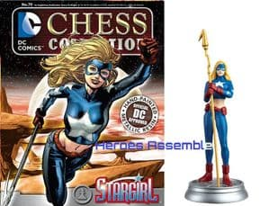 DC Chess Figurine Collection #79 Stargirl Forever Evil Eaglemoss