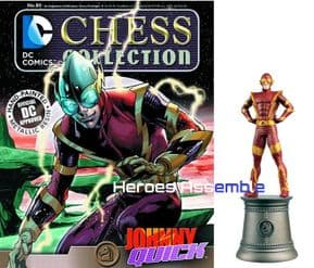 DC Chess Figurine Collection #80 Johnny Quick Forever Evil Eaglemoss