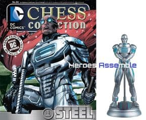 DC Chess Figurine Collection #84 Steel Forever Evil Eaglemoss
