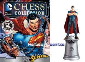 DC Chess Figurine Collection #96 Young Superman Forever Evil Eaglemoss