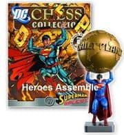 DC Chess Figurine Collection Special #4 Superman Daily Planet Eaglemoss