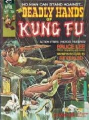 Deadly Hands Of Kung-Fu Magazines