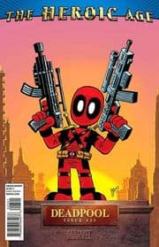 Deadpool #23 Heroic Age Retail Incentive Variant (2009) Marvel Comic book