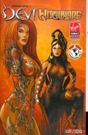 Devi Witchblade #1 Singh Variant Cover Top Cow comic book