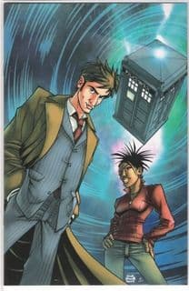 Doctor Who #1 Retail Incentive Variant IDW Publishing comic book
