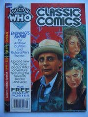 Doctor Who Classic Comics 1993 Autumn Special c/w Poster