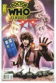 Doctor Who Classics #1 2nd Print IDW Non-Distributed UK