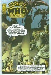 Doctor Who Classics #1 Retro Retail Variant IDW Publishing comic book