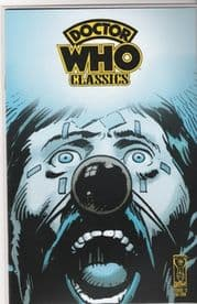 Doctor Who Classics #2 Retro Retail Variant IDW Non-Distributed UK