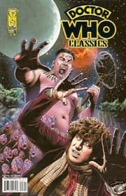 Doctor Who Classics #3 IDW Publishing Non-Distributed UK Dave Gibbons