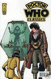 Doctor Who Classics #8 Retro Retail Incentive Variant IDW Publishing comic book