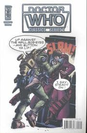 Doctor Who Classics Volume 2 #2 Retail Incentive Retro Variant (2008) IDW Publishing comic book