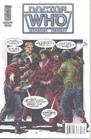 Doctor Who Classics Volume 2 #3 Retail Incentive Retro Variant (2008) IDW Publishing comic book