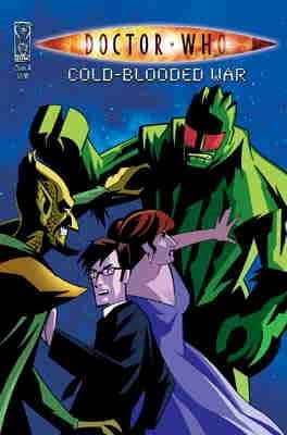 Doctor Who Cold Blooded War Cover A (2009) IDW Publishing comic book