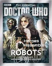 Doctor Who Essential Guide #10 Robots Bookazine Magazine Panini Comics