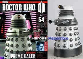 Doctor Who Figurine Collection #064 New Paradigm Dalek Supreme Eaglemoss