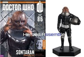 Doctor Who Figurine Collection #086 Linx Sontaran Eaglemoss