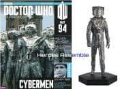 Doctor Who Figurine Collection #094 Silver Nemesis Cyberman Eaglemoss
